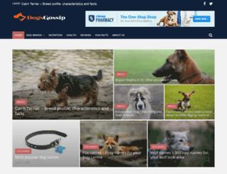 dogsgossip.com screenshot