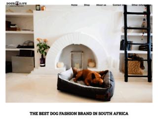 dogslife.co.za screenshot
