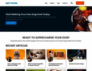 dogsnaturallymagazine.com screenshot