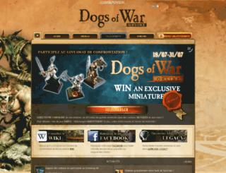 dogsofwar-online.com screenshot