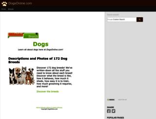 dogsonline.com screenshot