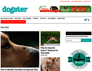 dogster.com screenshot