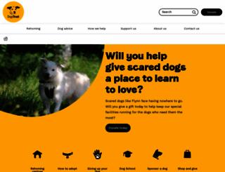 dogstrust.org.uk screenshot