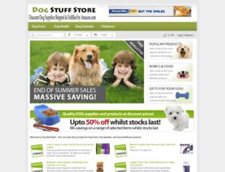 dogstuffstore.com screenshot