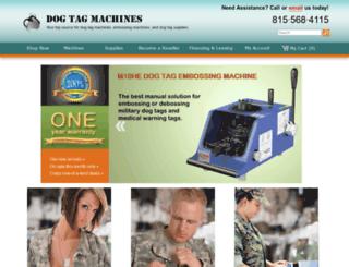 dogtagmachines.com screenshot