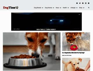dogtime.com screenshot