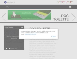 dogtoilette.com screenshot
