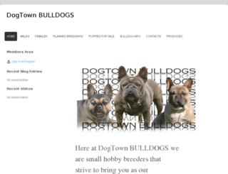 dogtownbulldogs.com screenshot