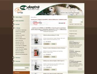 dogtra.pl screenshot
