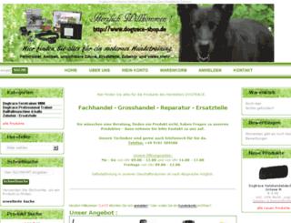 dogtrace-shop.de screenshot