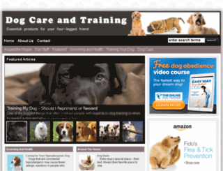 dogtraining.pet-market-online.info screenshot