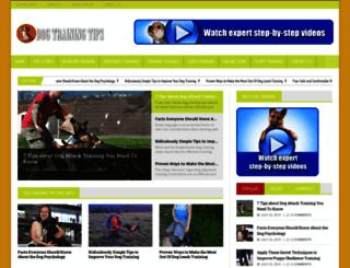 dogtrainingmag.com screenshot