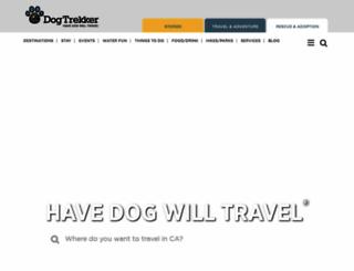 dogtrekker.com screenshot