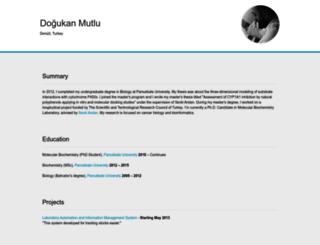 dogukanmutlu.com screenshot