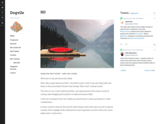 dogvile.com screenshot