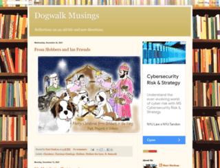 dogwalkmusings.blogspot.com screenshot
