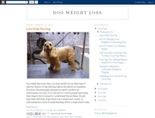 dogweightloss.org screenshot
