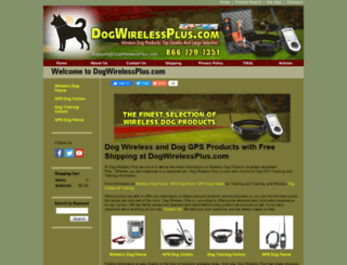 dogwirelessplus.com screenshot