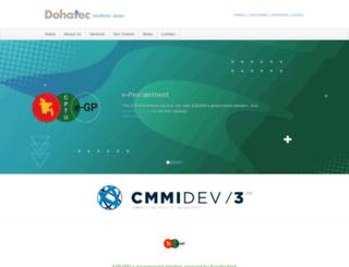 dohatec.com screenshot