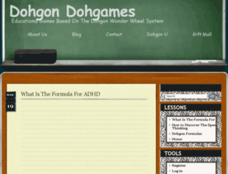 dohgondohgames.com screenshot