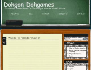 dohgondohgames.com screenshot