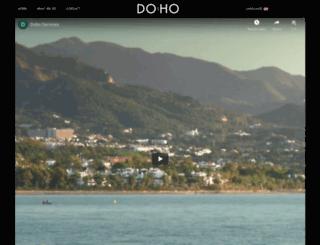 doho.es screenshot