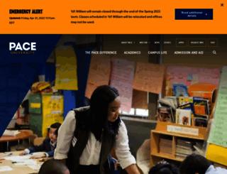 doithelpdesk.pace.edu screenshot