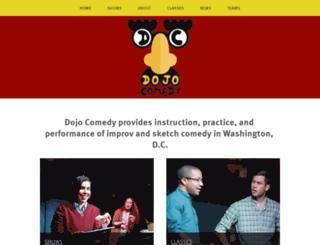 dojocomedy.com screenshot