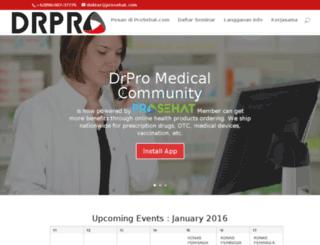 dokter.prosehat.com screenshot