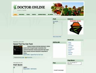 dokteronlen.blogspot.com screenshot