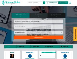 doktorumonline.net screenshot