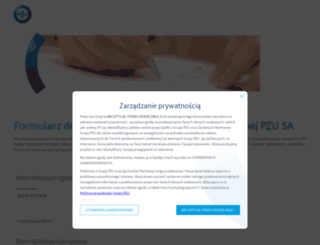 dokumentacjapzu.pzu.pl screenshot