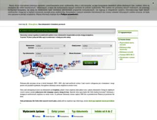 dokumenty.serwisprawa.pl screenshot