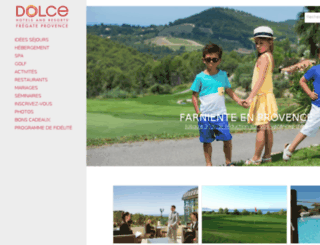 dolce-fregate-hotel.fr screenshot
