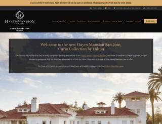 dolce-hayes-mansion-hotel.com screenshot