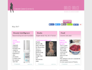dolcedolce.com screenshot