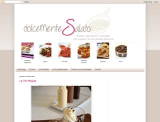 dolcemente-salato.blogspot.com screenshot