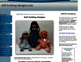 doll-knitting-designs.com screenshot