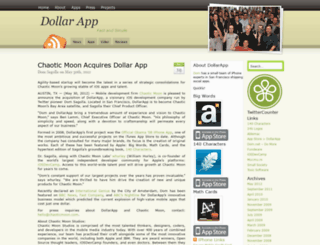 dollarapp.com screenshot