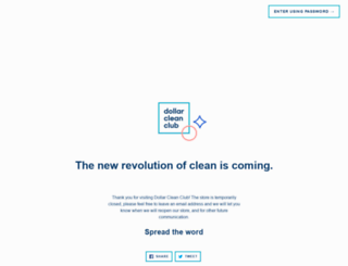 dollarcleanclub.com screenshot