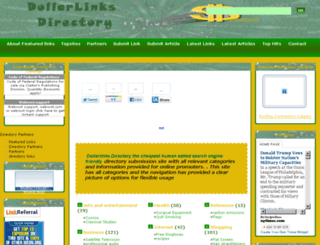 dollarlinksdirectory.com screenshot