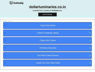 dollarluminaries.co.in screenshot