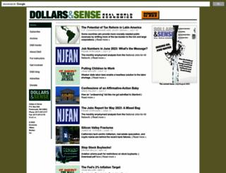 dollarsandsense.org screenshot