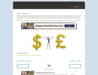 dollarstopounds.co.uk screenshot