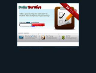 dollarsurveys.net screenshot