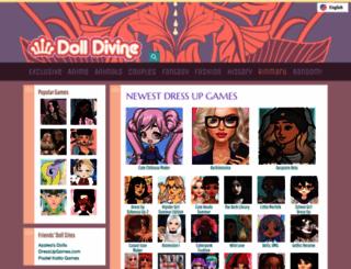 dolldivine.com screenshot