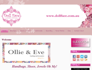 dollface.com.au screenshot