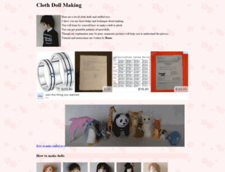 dollmaker.nunodoll.com screenshot