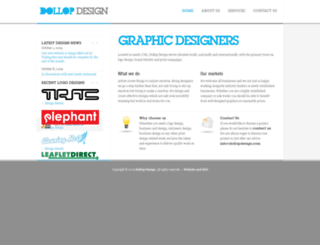 dollopdesign.com screenshot