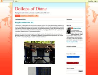 dollopsofdiane.com screenshot